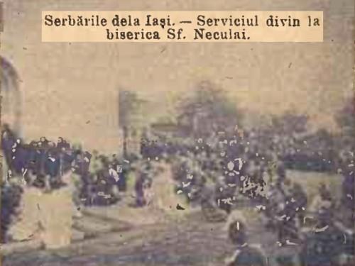 1904 Cortegiul istoric 10 CALENDARUL MINERVA 1905
