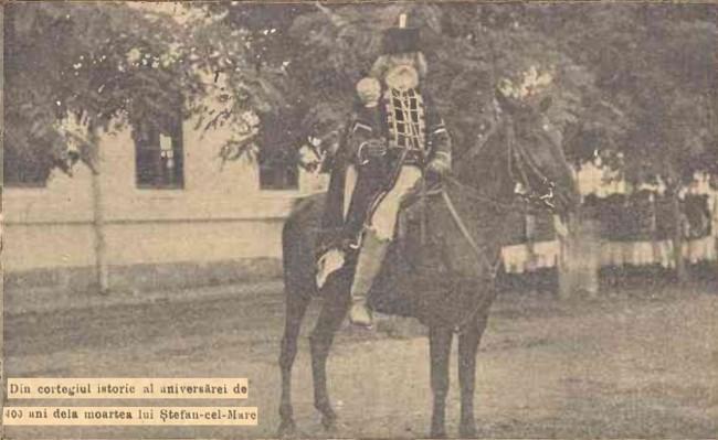 1904 Cortegiul istoric 11 CALENDARUL MINERVA 1905