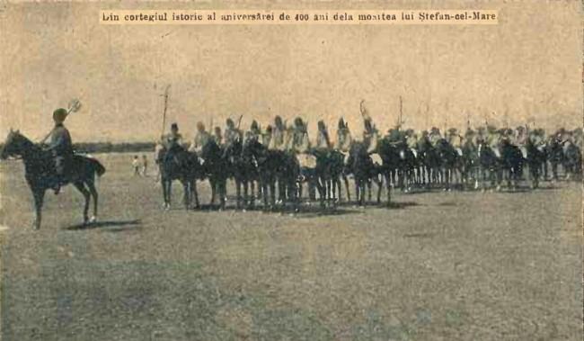 1904 Cortegiul istoric 2 CALENDARUL MINERVA 1905