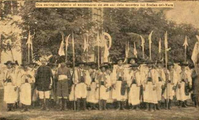 1904 Cortegiul istoric 3 CALENDARUL MINERVA 1905