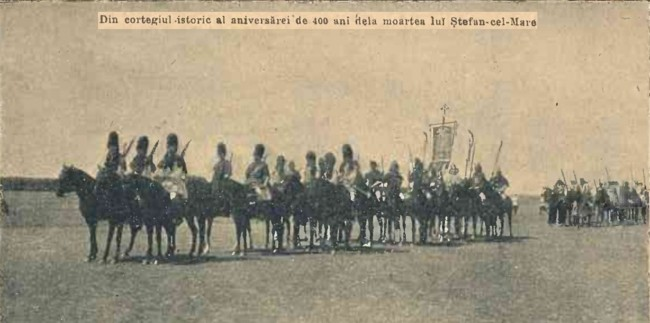 1904 Cortegiul istoric 4 CALENDARUL MINERVA 1905