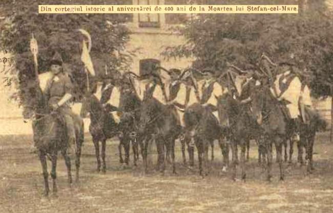 1904 Cortegiul istoric 5 CALENDARUL MINERVA 1905