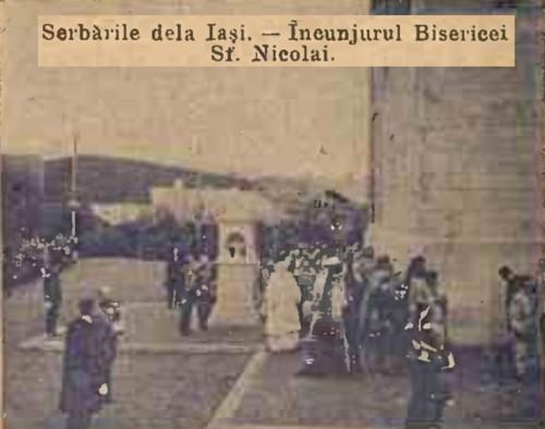 1904 Cortegiul istoric 6 CALENDARUL MINERVA 1905