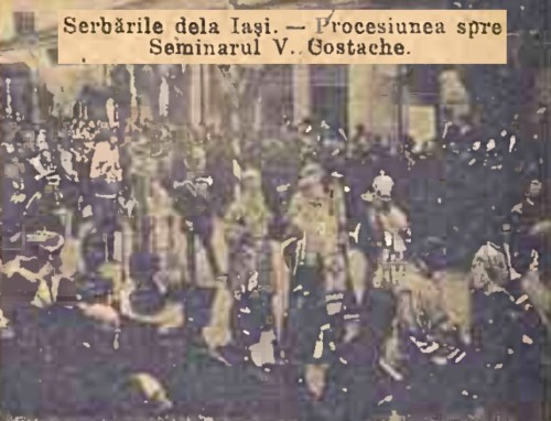 1904 Cortegiul istoric 7 CALENDARUL MINERVA 1905