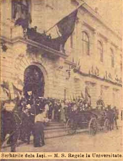 1904 Cortegiul istoric 8 CALENDARUL MINERVA 1905