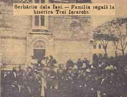 1904 Cortegiul istoric 9 CALENDARUL MINERVA 1905
