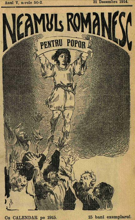 1914 Neamul Romanesc pentru popor dec 31