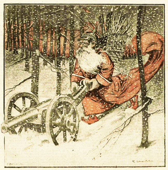 Crăciunul anului 1914 - Săptămâna Războiului din 25 decembrie 1914