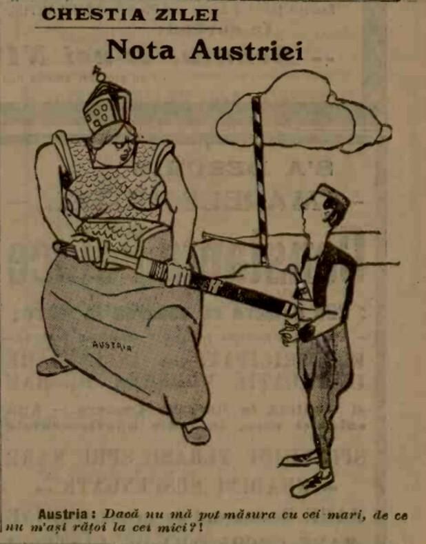 Ultimatum austro-ungar pentru Serbia