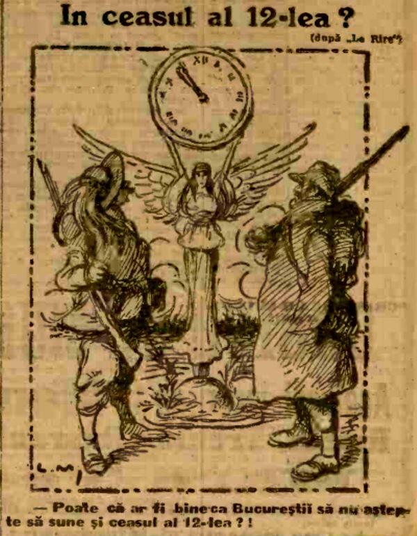 1914 dec 25 ADEVARUL ceasul 12