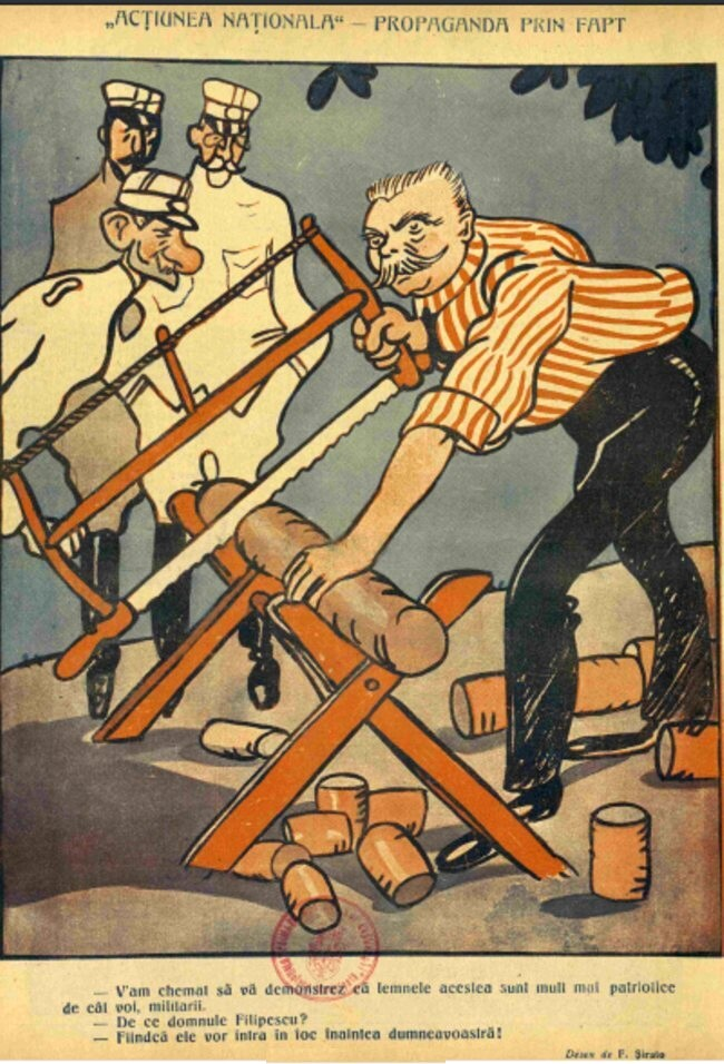 1914 decembrie 14 FURNICA Actiunea Nationala