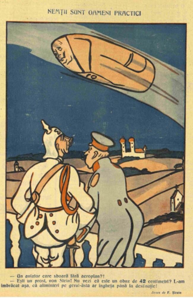 1914 decembrie 14 FURNICA Nemtii sunt oameni pasnici