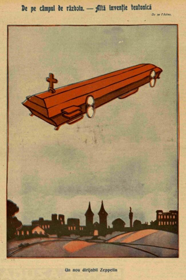 1914 decembrie 15 FURNICA Alta inventie teutonica