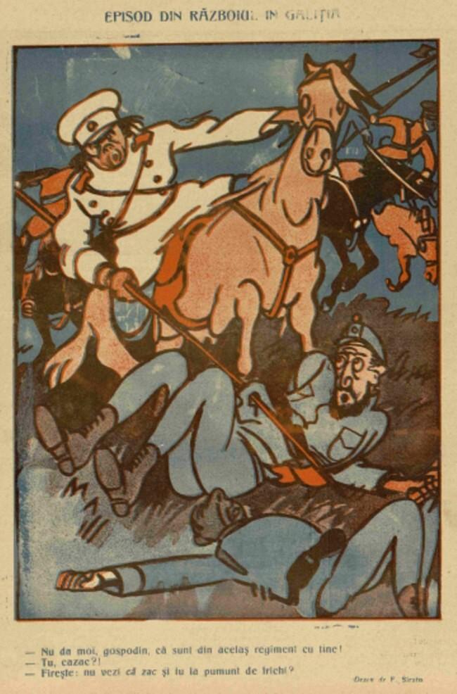 1914 decembrie 16 FURNICA Episod de razboi Galitia