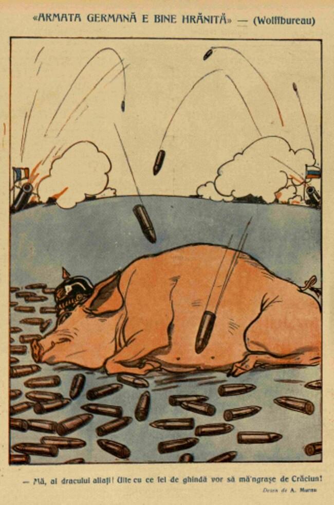 1914 decembrie 17 Armata german[ e bine hranita