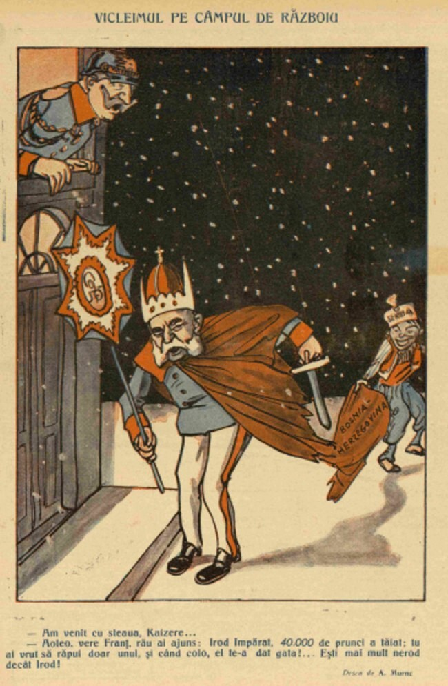 1914 decembrie 17 Furnica Vicleimul pe campul de razboi