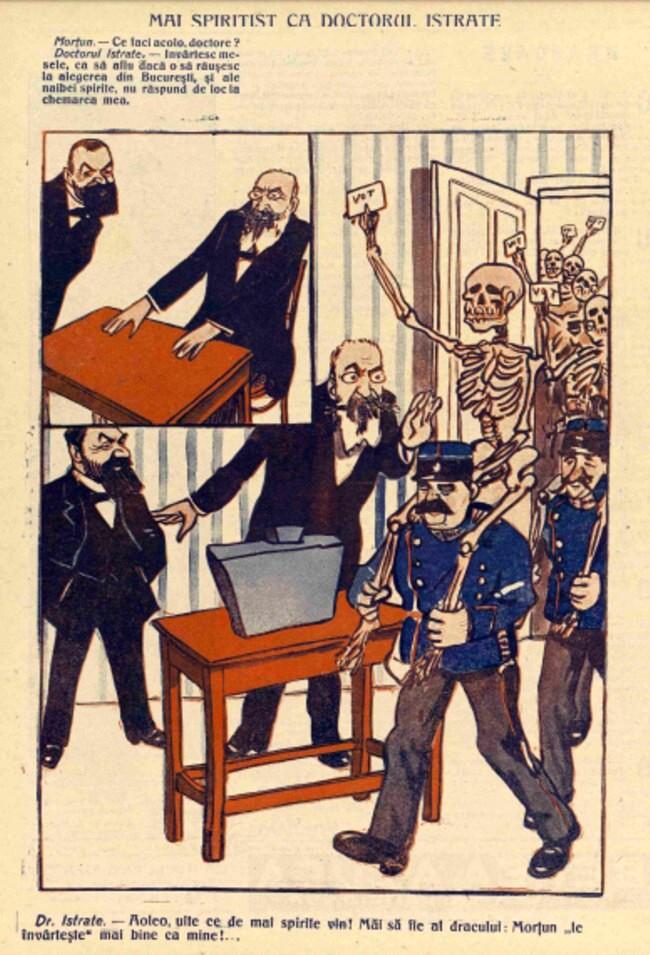 1914 iulie FURNICA Mai spiritist ca Doctorul Istrate