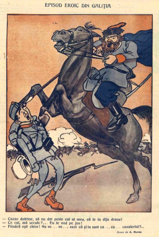 1914 noiembrie 13 FURNICA Episod eroic in Galitia
