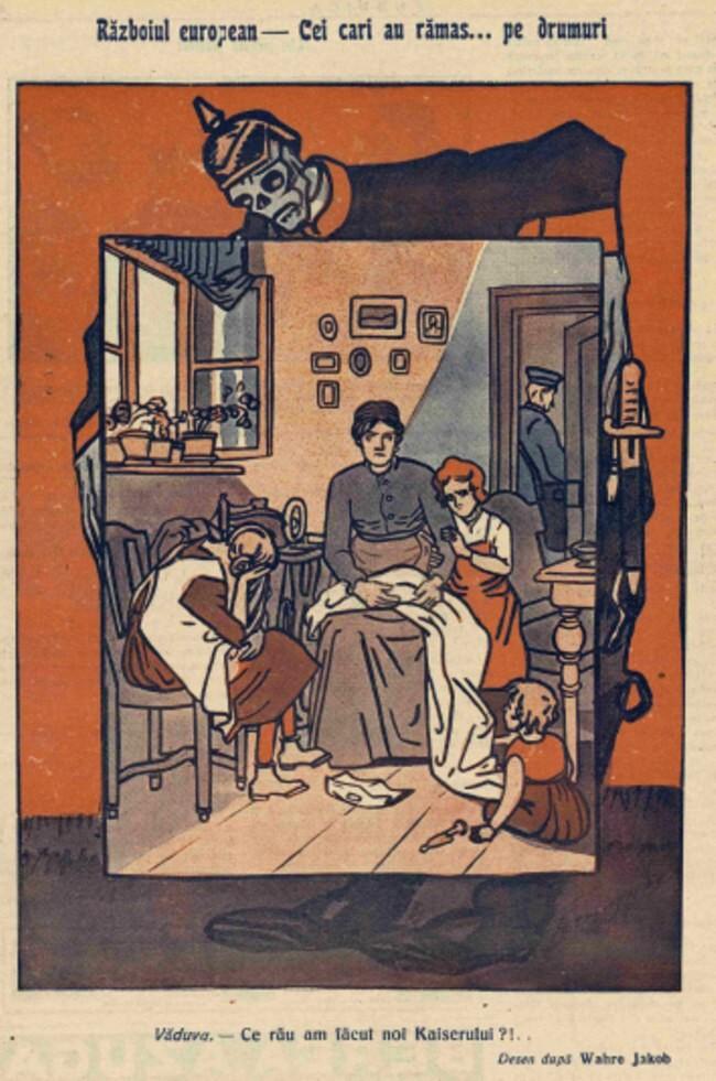 1914 noiembrie 13 FURNICA Razboiul european