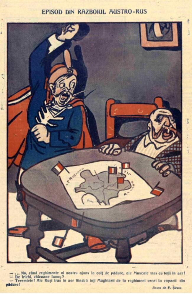 1914 octombrie 6 FURNICA Episod din razboiul austro rus