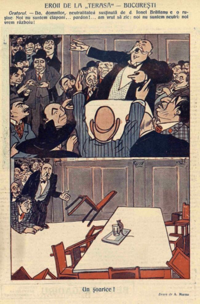 1914 octombrie 6 FURNICA Eroii de la Terasa Bucuresti