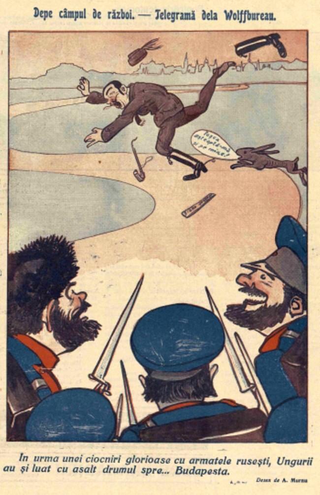 1914 octombrie 7 FURNICA Pe campul de razboi telegrama