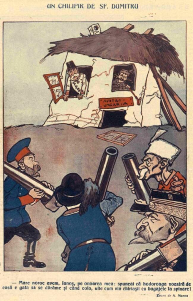 1914 octombrie 8 FURNICA Chilipir de Sf Dumitru