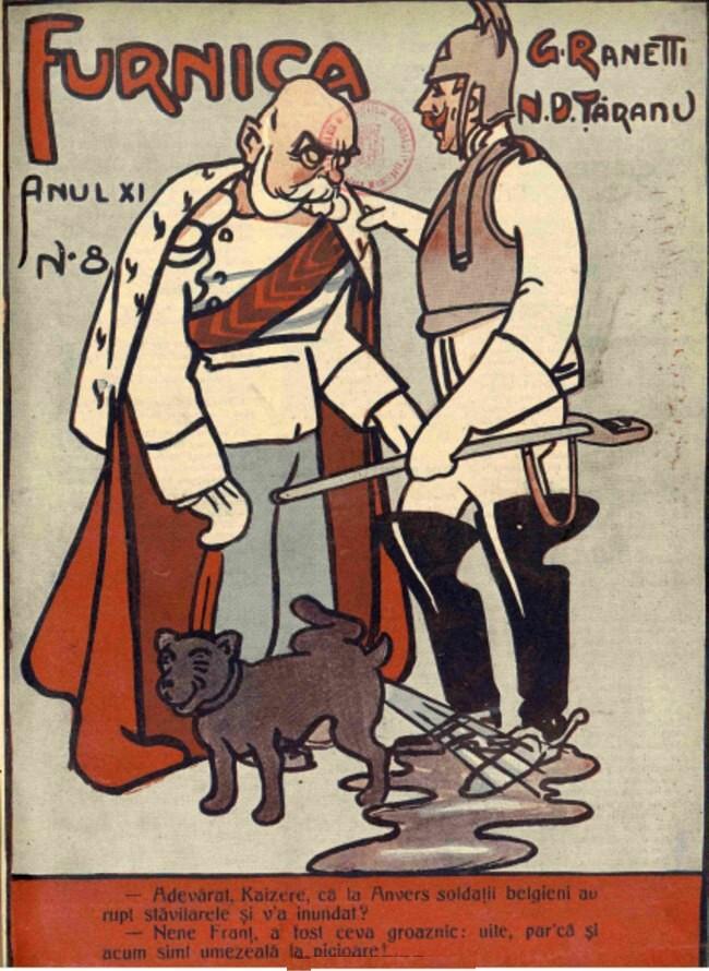 1914 octombrie 8 FURNICA Coperta