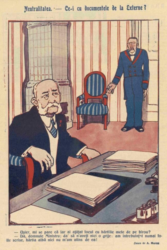 1914 octombrie 9 FURNICA Neutralitatea