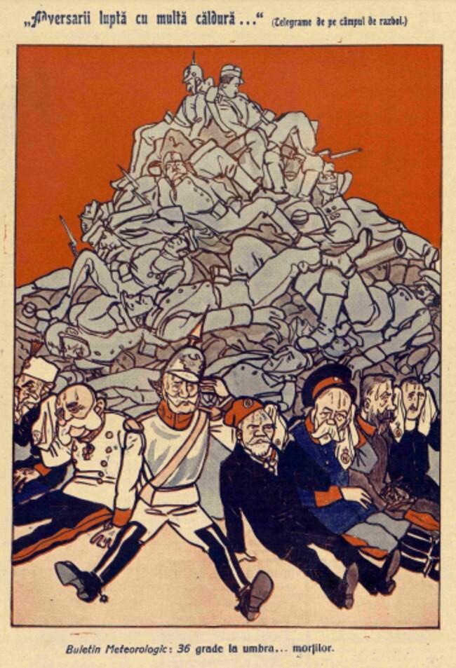 1914 septembrie 1 FURNICA Adversarii lupta cu multa caldura
