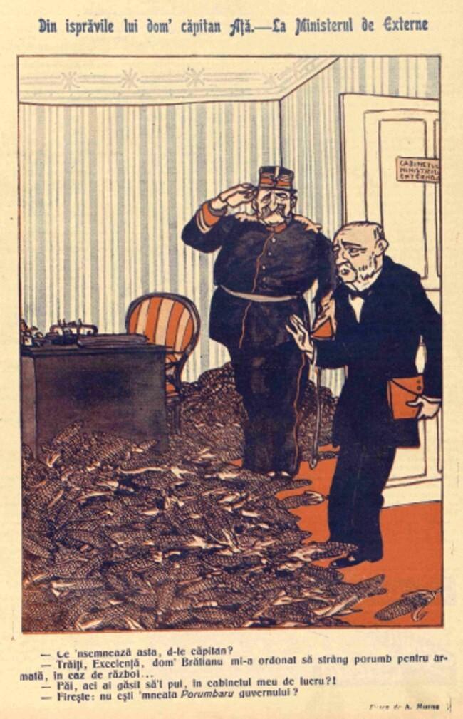 1914 septembrie 1 FURNICA Din ispravile lui dom capitan Ata