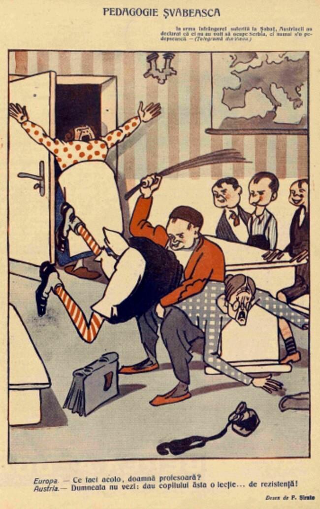 1914 septembrie 1 FURNICA Pedagogie svabeasca
