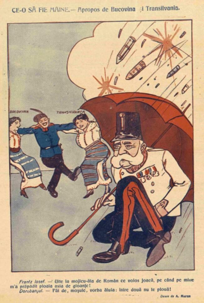 1914 septembrie 4 FURNICA Apropo de Bucovina si Transilvania