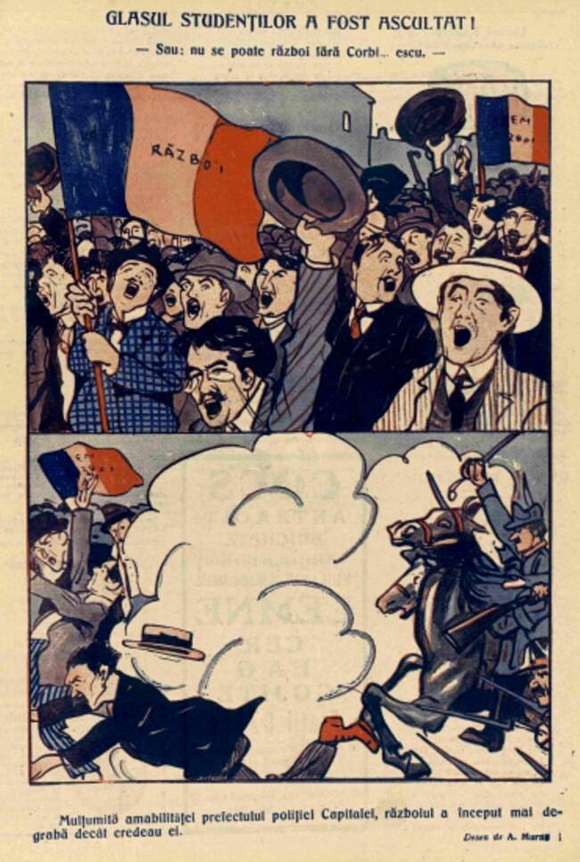 1914 septembrie 5 Nu se poate razboi fara corbi