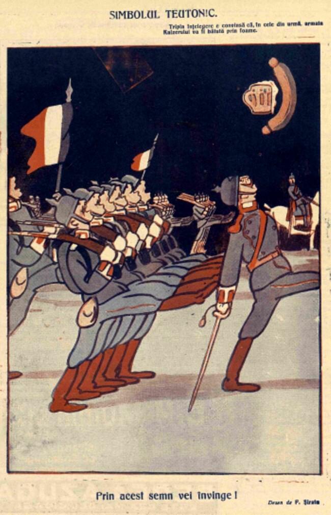 1914 septembrie 5 Simbolul teutonic