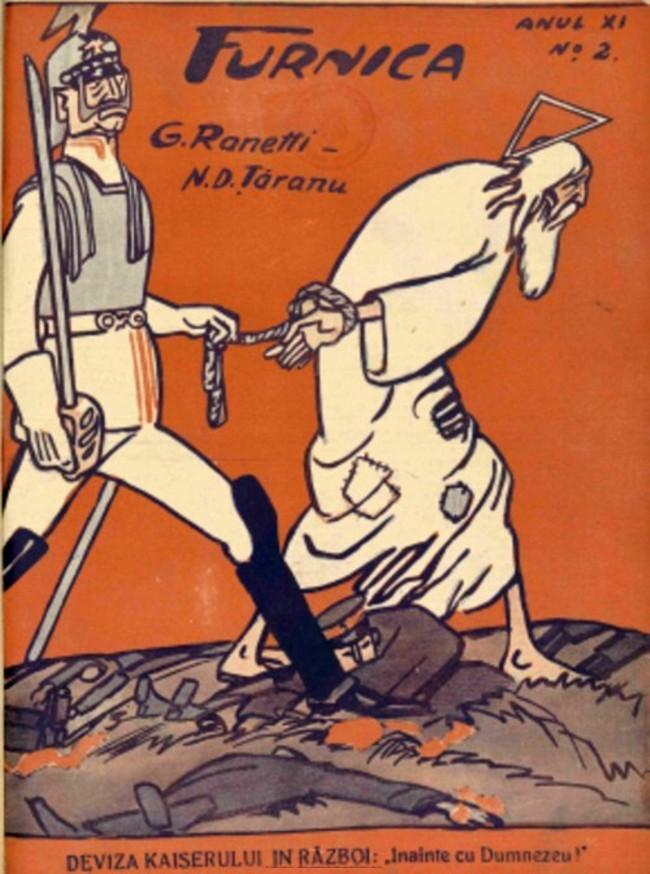1914 septembrie FURNICA Deviza Kaiserului