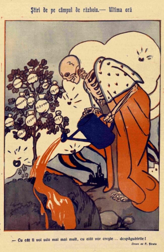 1914 septembrie FURNICA Stiri de pe campul de razboi
