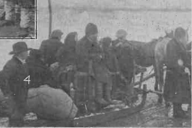 Cercetarea refugiaţilor bucovineni de către reprezentanţii autorităţilor noastre româneşti