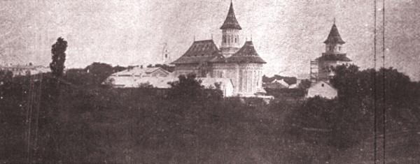 1915, februarie 27, La Revue hebdomadaire: Biserica Sfântul Gheorghe din Suceava; foto: Edme Vielliard