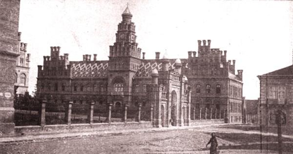 1915, februarie 27, La Revue hebdomadaire: Reşedinţa mitropolitană din Cernăuţi; foto: Edme Vielliard