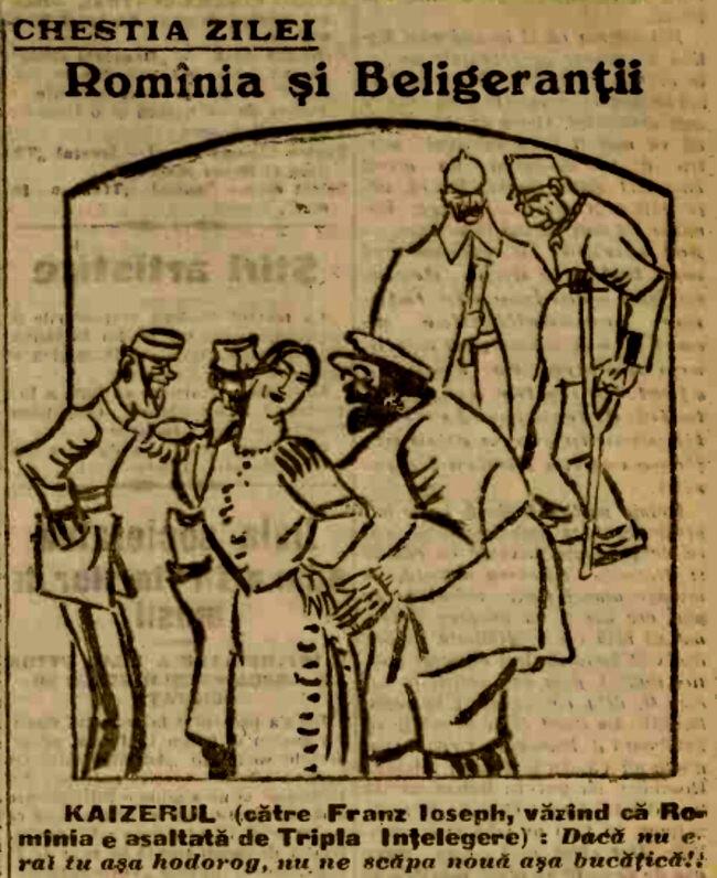 1915 ianuarie 16 ADEVARUL Romania si beligerantii