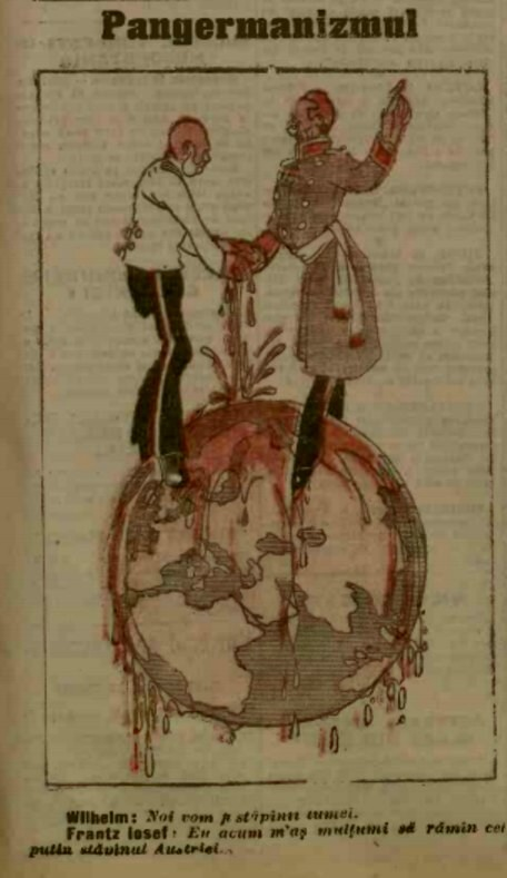 1915 ianuarie 29 ADEVARUL Pangermanismul