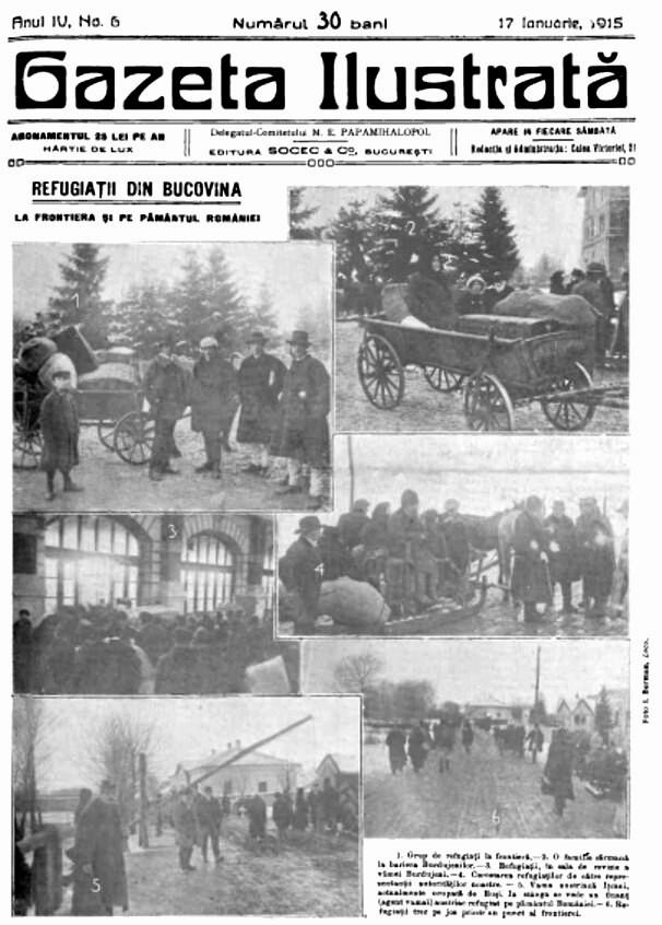 REALITATEA ILUSTRATĂ din 1916; foto: I. Berman
