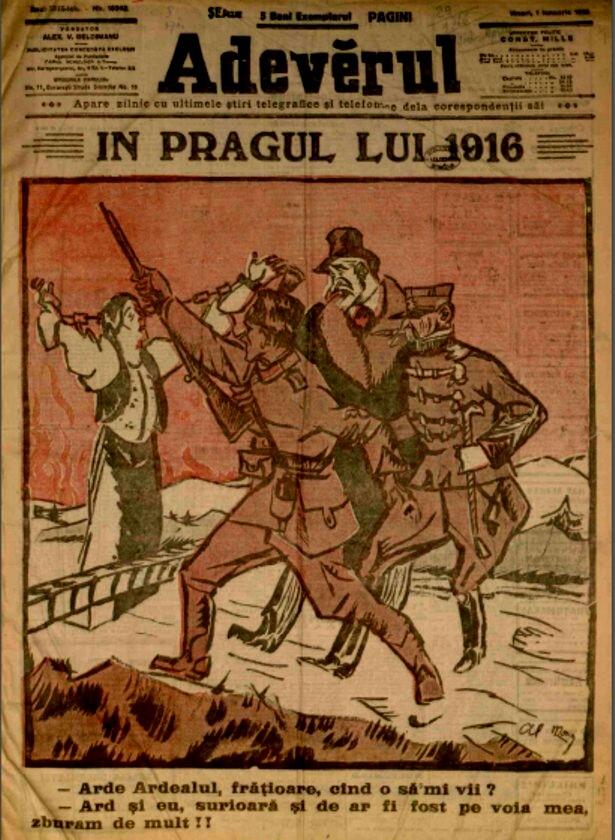 1916 ianuarie 1 ADEVARUL coperta