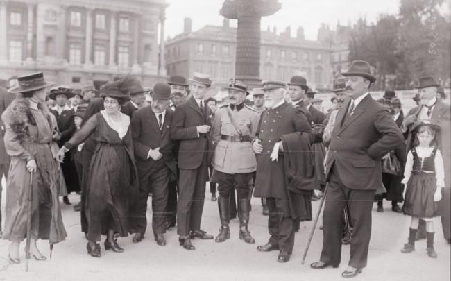 1917 GALLICA Manifestation en l'honneur de la Roumanie Paris 2