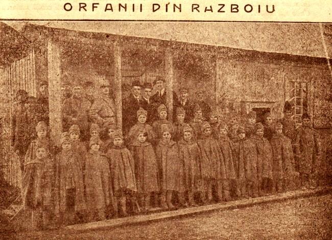 1919 RASARITUL Orfanii de razboi