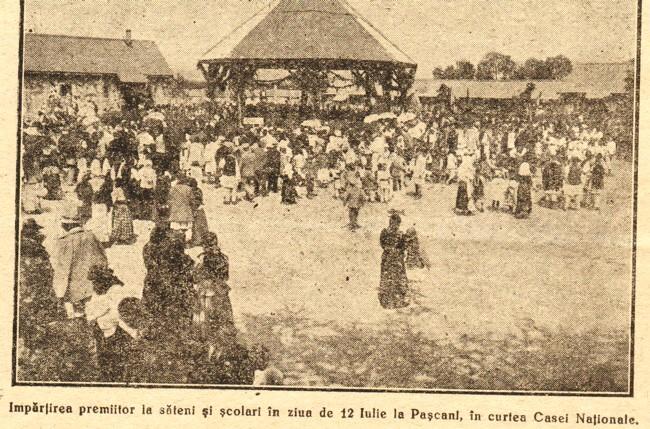 1919 RASARITUL premiere Pascani