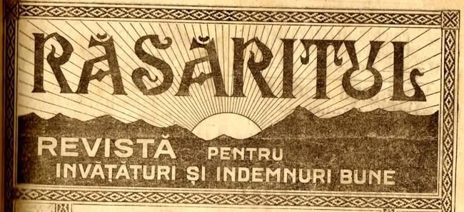 1919 RASARITUL titlu