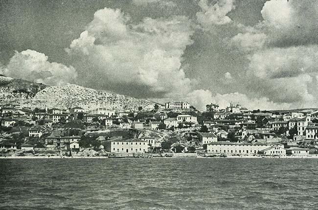 Balcic, vedere parţială a oraşului