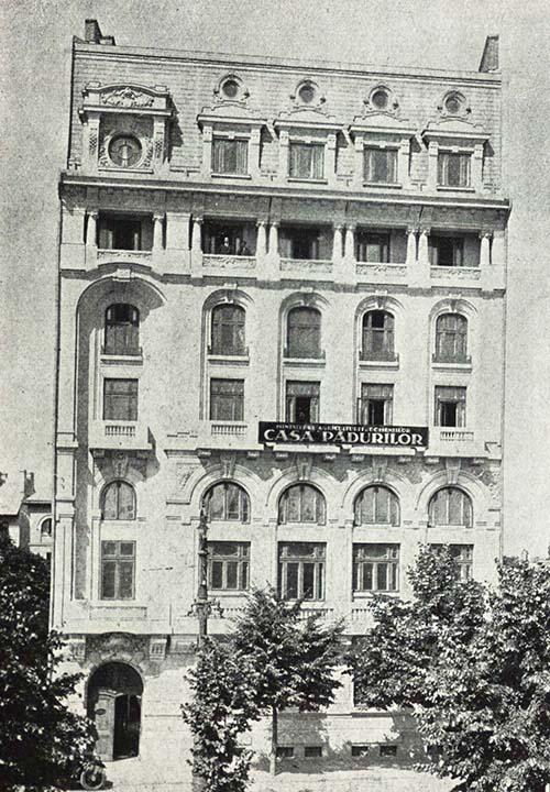 Bucureşti, Casa Societăţii Silvice